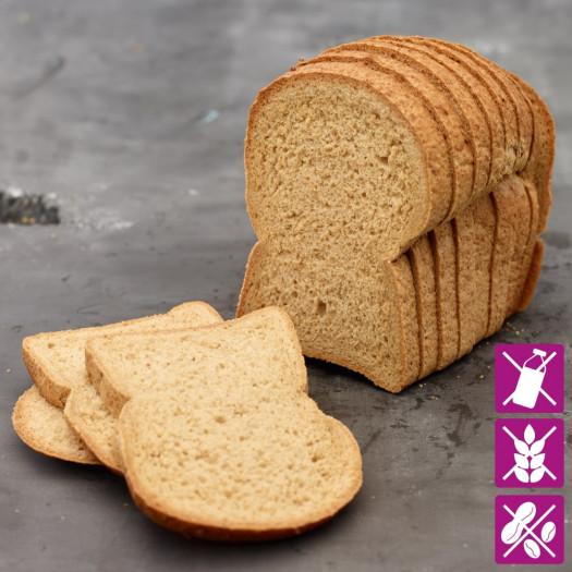 Braun Brot Glutenfrei