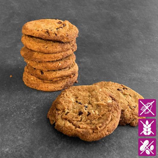 Cookies Cranberry Kürbiskern Glutenfrei